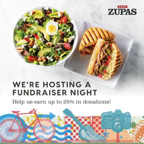 Café Zupas Fundraiser